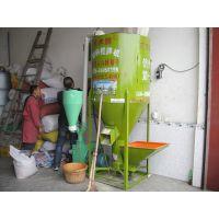 四川眉山玉米麦麸5.5千瓦粉碎机配1000斤搅拌机