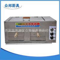 特价方形不锈钢电热双层潼关肉夹馍烧饼炉食品烘焙设备烙饼机