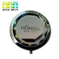 水晶玻璃化妆镜、金属化妆镜、双面镜子、促销礼品镜子[厂家直销]