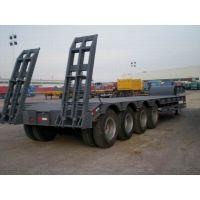 供应 低平板运输大件半挂车 用于运输重型汽车 排量多种供选L