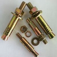 镀蓝白锌 彩锌 套管加强型膨胀螺栓 螺丝 电梯丝 五金 紧固件