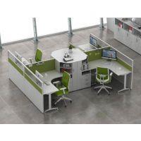 新款上市弧形屏风工位屏风办公桌椅直形员工桌定制免费上门测量