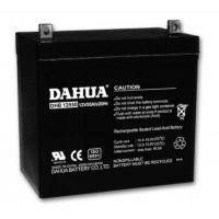 DAHUA蓄电池官网DHB12550大华蓄电池12V55AH官网报价