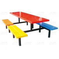 8人位条凳食堂餐桌椅广州厂家直销