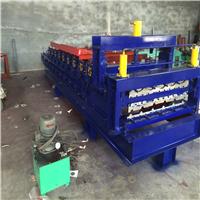 浩鑫压瓦机厂家840/900双层琉璃压瓦机成型设备彩钢冷弯设备