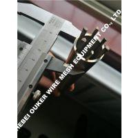欧科制造,纯圆绕丝筛管无棱角,25微米缝隙,绕丝筛管机械,纯圆高精筛管机