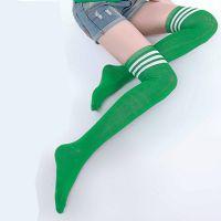 国际袜都大唐直售外贸原单多色女士优雅塑形中筒足球袜 多买多送