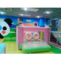 供应馨晨室内儿童小型 充气淘气堡 精致小型儿童乐园 宝贝蹦蹦床弹跳床