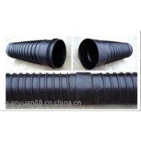 HDPE承插式钢带增强排水管价格