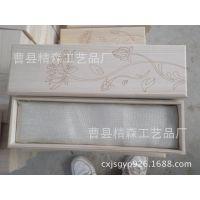 厂家直销高档木质玉器珠宝首饰盒珍藏品实木手镯挂件把件包装盒