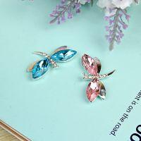蜻蜓配件 金属饰品配件 苹果手机美容镶钻diy材料水钻批发