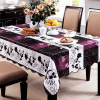 一朵 塑料桌布 防水免洗 pvc台布茶几布 餐桌布 防油欧式田园