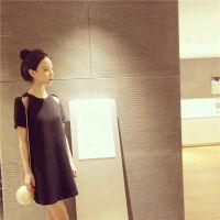【钱夫人】CHINSTUDIO定制 质感显瘦 露肩连衣裙