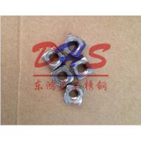 广东佛山不锈钢螺母 304东鸿盛四方焊接螺母 四方电焊 点焊 碰焊螺帽 凸缘螺帽非标生产