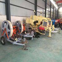 得力厂家直销 液压张力机TY2×50主动液压张力机 TY1×40牵张两用机