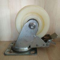 厂家直销5寸塑料脚轮 万向轮子 定向脚轮 带刹车脚轮 工业重型脚轮 衡水供应