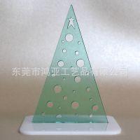 圣诞树造型耳环展示架 亚克力耳环展示架 耳环挂架