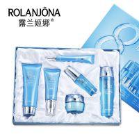 露兰姬娜八杯水美白补水六合一套装 滋润保湿面部护理护肤 A6015