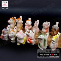 批发陶瓷水鸟音乐水鸟陶瓷口哨摆件创意儿童玩具趣味水哨十二生肖
