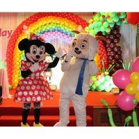 昆山太仓苏州宝宝生日宴的酒店气球布置