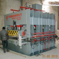 自动化测压200T竹单板单层热压机生产厂-青岛国森机械