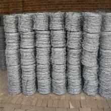 养牛铁丝防护网 刺绳围栏 刺丝围栏 刺线多少钱一米
