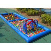 儿童钓鱼充气水池都有多大的 集市上小孩钓鱼玩的水池价格 稳定赚钱小生意-充气游泳池