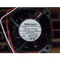全新原装NMB/2406KL-05W-B59 60*60*15 24V 0.13A 变频器风扇 现货