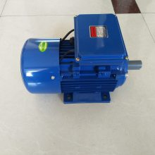 武汉地区液压设备用单相220V-1.5KW卧式电动机