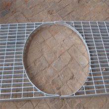 排水沟沟盖板 楼梯踏步板 污水处理平台钢格板