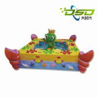【新款游乐设备】玻璃钢竞技钓鱼池 儿童淘气堡 室内游乐设施直销