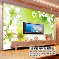 电视背景无缝3D墙纸壁纸客厅大型壁画无缝墙布整幅不用拼接的壁画