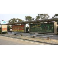 南京桥北公交站台候车厅户外广告位招租