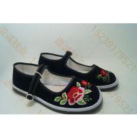 山东省便宜的护士单鞋批发,低价妈妈网鞋