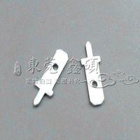 187-2 4.8焊接插片焊接端子线路板接线插片PCB公端子