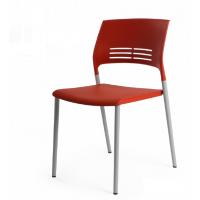 格友家具供应PP简约塑料椅子,塑料多功能椅子批发