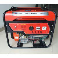 供应铃鹿5KW三相汽油发电机 380V小型发电机价格