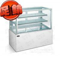直角蛋糕展柜 2米 面包店展示柜 制冷设备 烘焙设备 点心冷藏柜