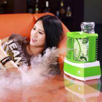 家居礼品 桌面小空调扇 雪人冰爽喷雾制冷加湿扇 迷你电风扇加湿