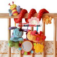 英国ELC床绕 原单床绕 外贸婴儿床绕 婴儿床挂 质量玩具