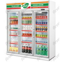 供应饮料展示柜/阿里之门饮料柜/三门水柜/雅绅宝冷柜厂家/冷柜价格