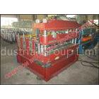 Trapezoidal Profile Roof Sheet Curving Machine With Mitsubishi PLC Controller