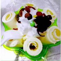 单锅炒酸奶机多少钱一台?水果炒酸奶卷机厂家直销