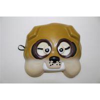 供应猫和老鼠面具 小狗面具 哈巴狗面具 卡通EVA面具 面具定制批发