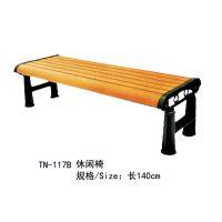 湖南株洲童年风车户外学校等实木休憩休闲排椅 背靠椅 长沙生产 可上门安装