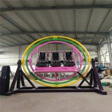 荥阳三星小型游乐设备6人三维太空环