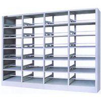 保质保量书架、河北学校书架、河北定做书架、铁皮书架、木护板书架