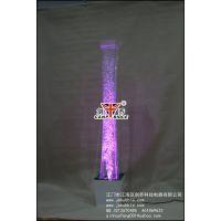 单管气泡水柱,七彩LED气泡水柱,亚克力水柱灯,圆管水柱,泡泡水柱