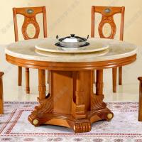 专卖 现代中式大理石火锅桌 火锅餐厅|酒店火锅桌椅 质保十年