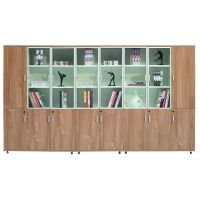 洛阳颂泰办公家具工厂直销时尚板式文件柜木质文件柜储物柜书柜可定制